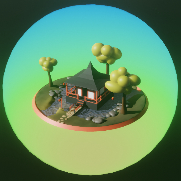Eevee Lowpoly Pagoda preview image 4