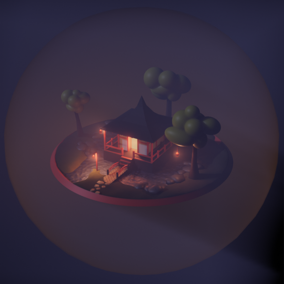 Eevee Lowpoly Pagoda preview image 5