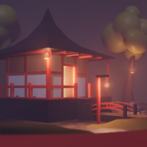 Eevee Lowpoly Pagoda preview image 6