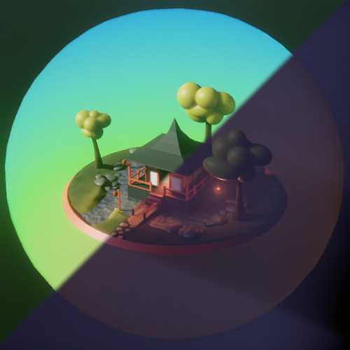 Eevee Lowpoly Pagoda preview image