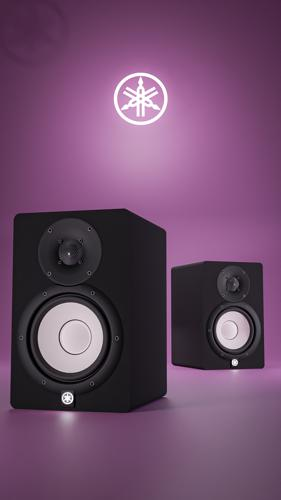 Yamaha HS7 studio monitor preview image