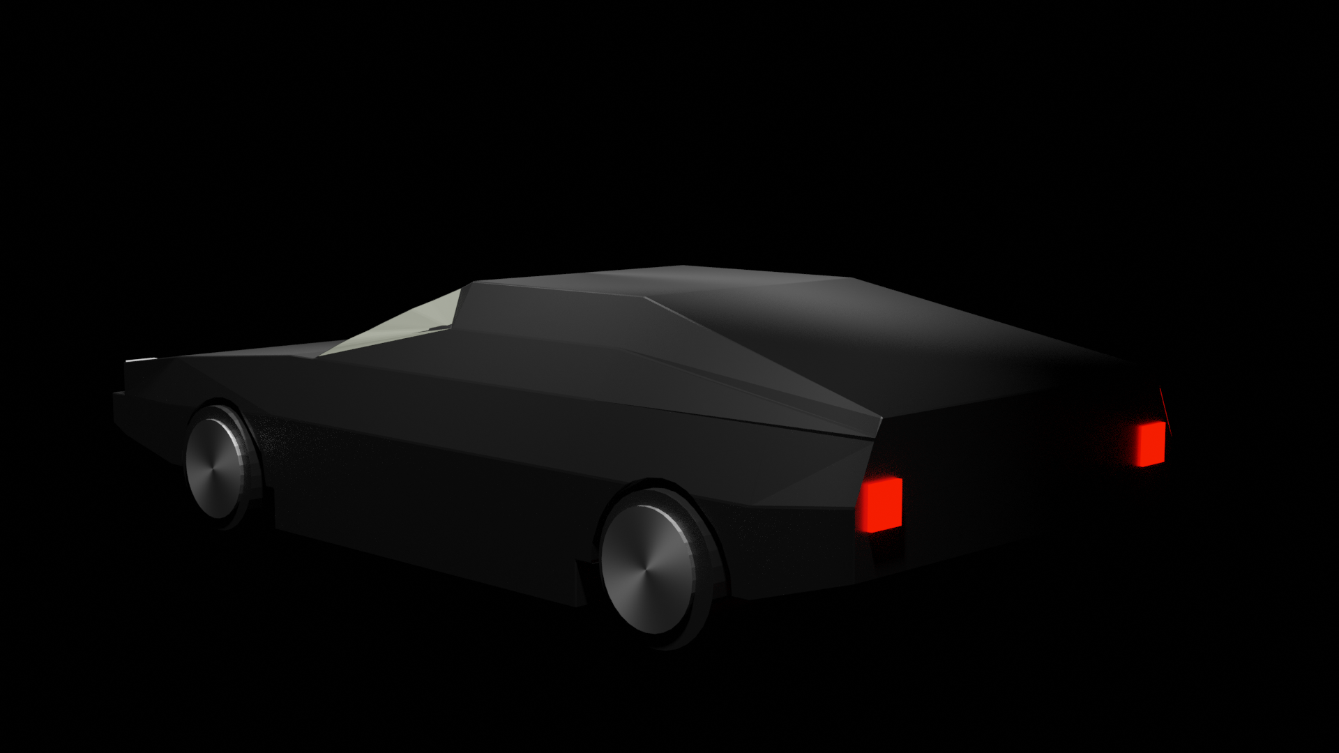 Low Poly Car preview image 2