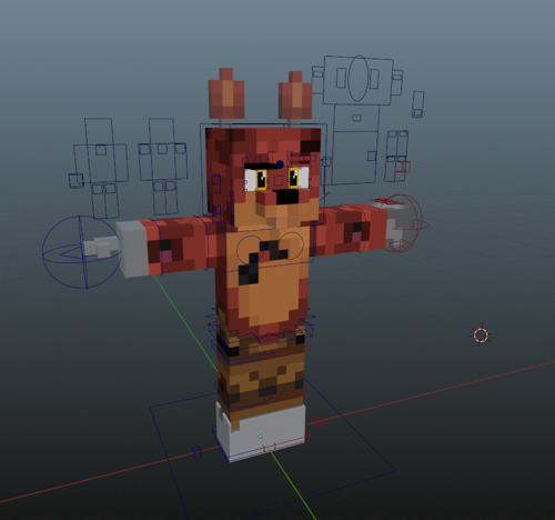 ZAMination Foxy V5 / Pickzz Rig (BLENDER 2.8 - Current ONLY) preview image