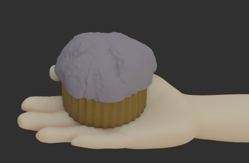 Hand holding Muffin preview image