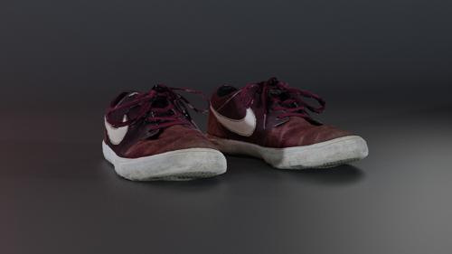 Red Nike Shoes preview image