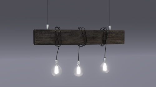 Wooden beam lamp preview image