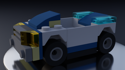 A LEGO Police Car preview image