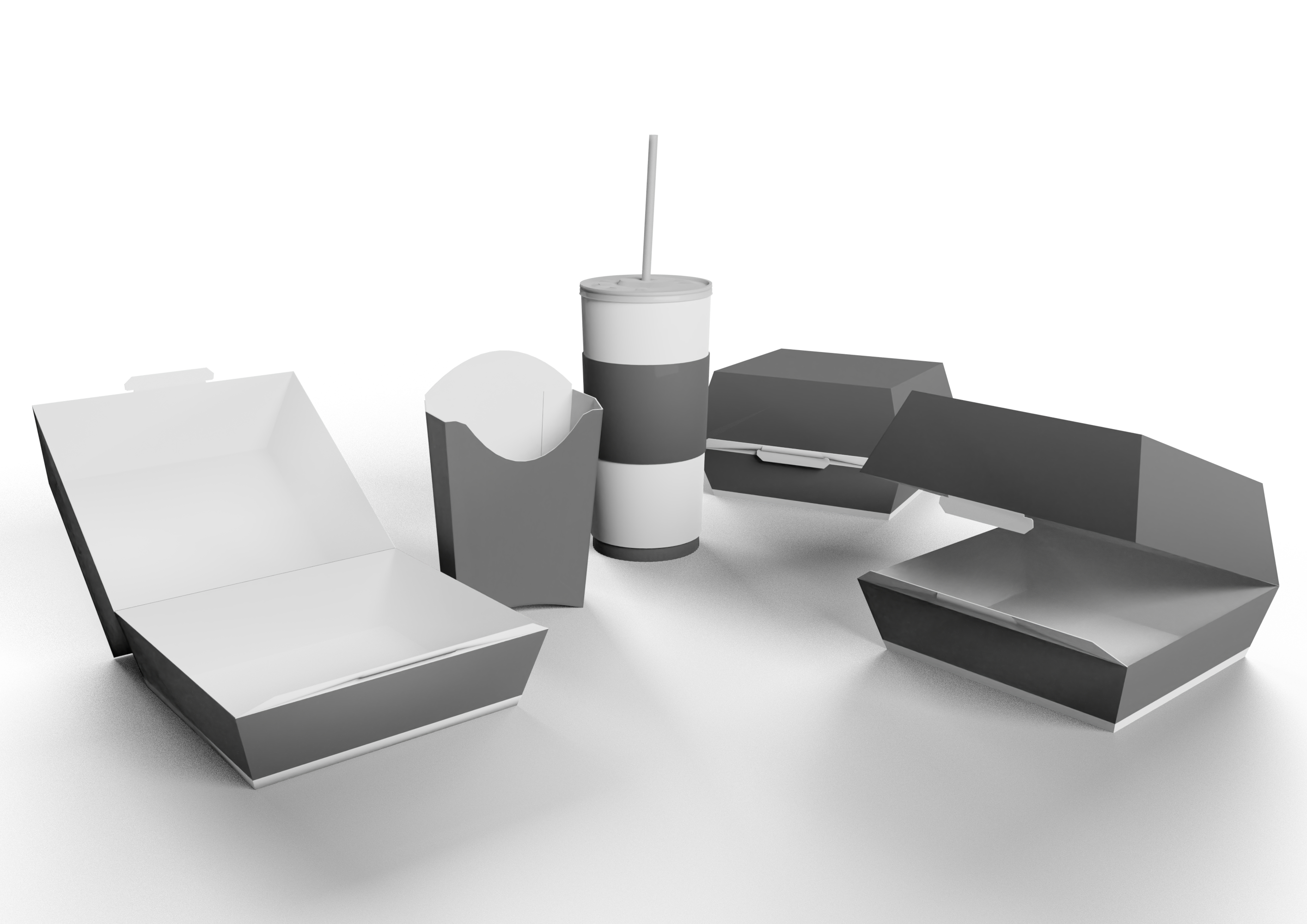 Fast Food Containers preview image 1