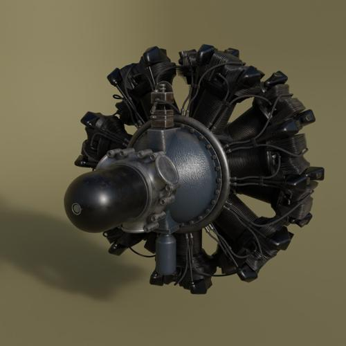 Wright R-2600 radial engine preview image