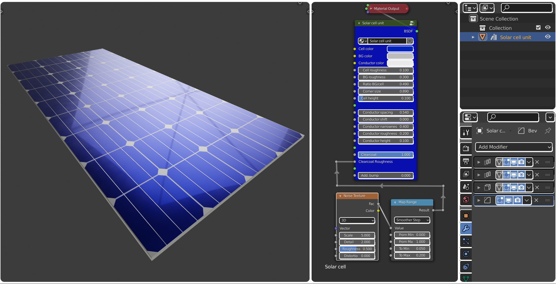 Custom Solar Cell Unit preview image 1