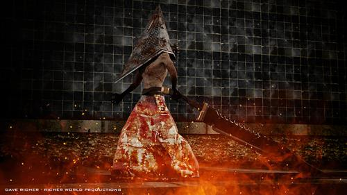 PyramidHead from Silent Hill - RIGGED preview image