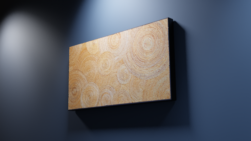 Wicker / Modern wall art piece preview image