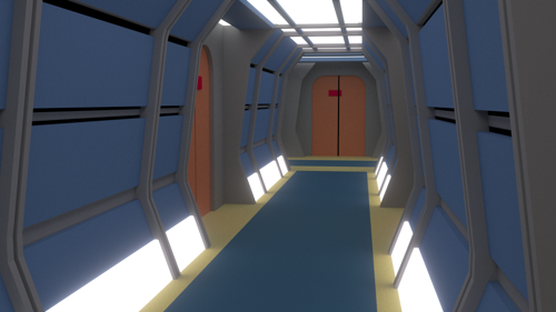Star Trek: The Next Generation Hallway preview image