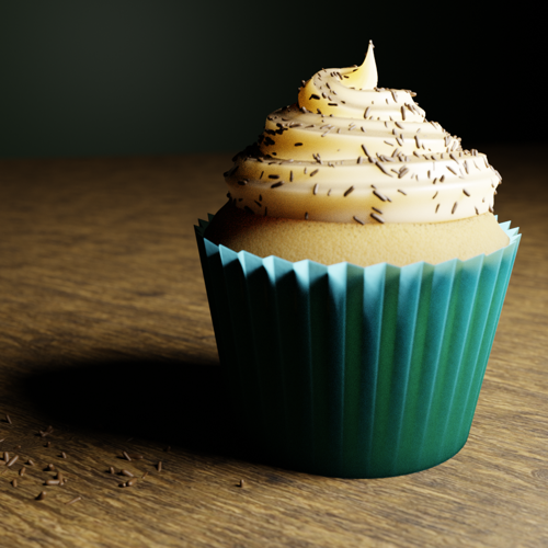 Cupcake with Buttercream Icing preview image