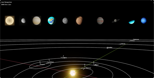 Solar system, procedural, simplified (2.93 or above) preview image