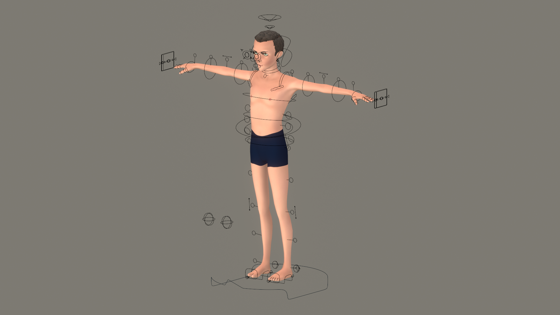 Boy - A Rigged Character preview image 1