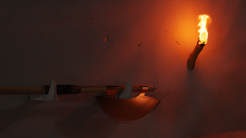 Battle Axe (torch included) preview image