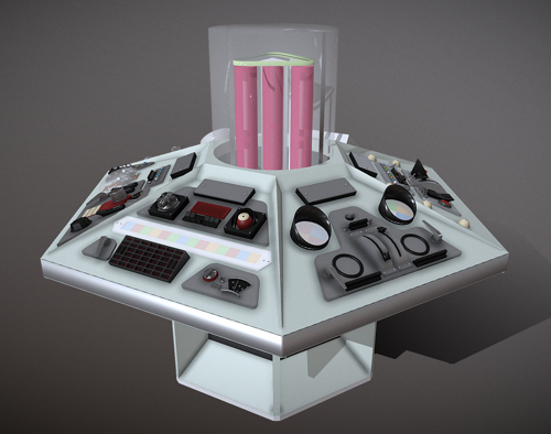 Tardis Console - Baker Era preview image
