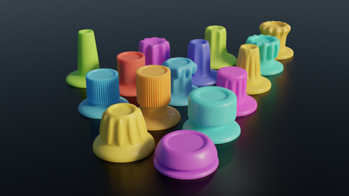 Knobs for kitbashing preview image