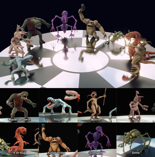 Dejarik Chess Creatures preview image