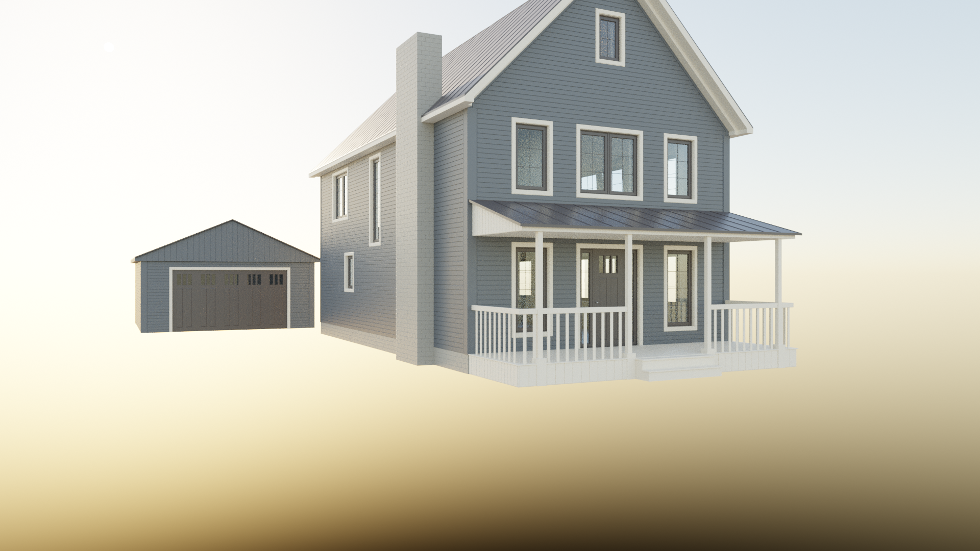 Timber Frame Barn House preview image 1