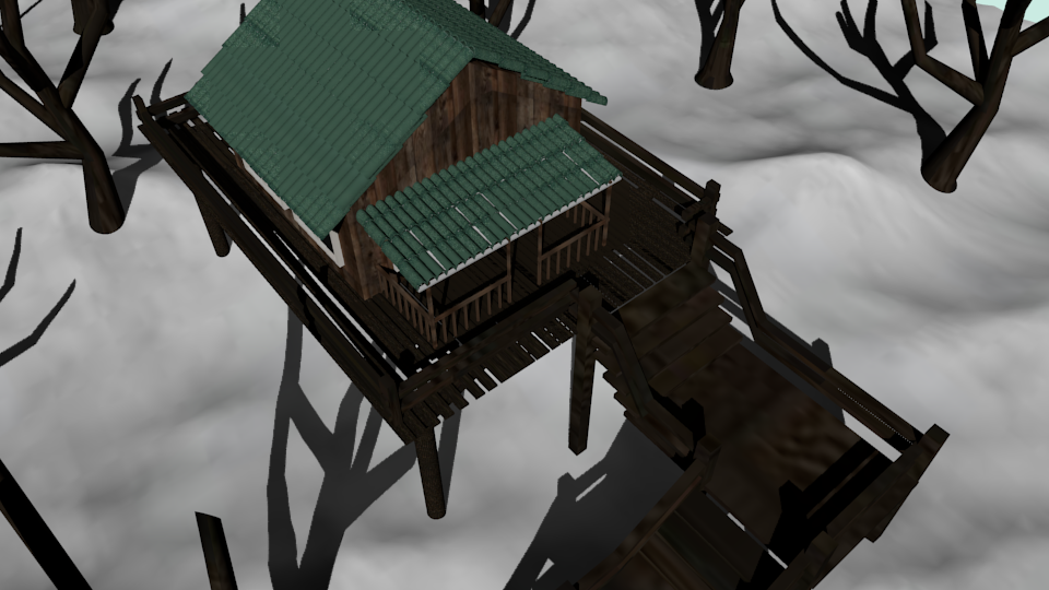 cabin winter preview image 3