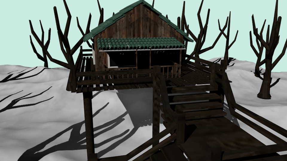 cabin winter preview image 2