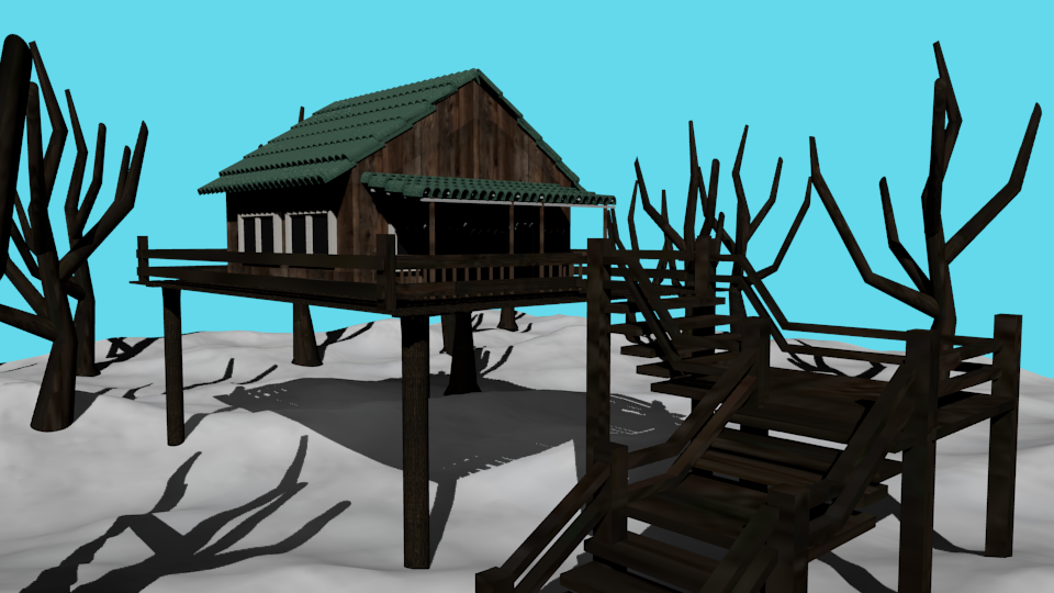 cabin winter preview image 1