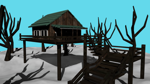 cabin winter preview image