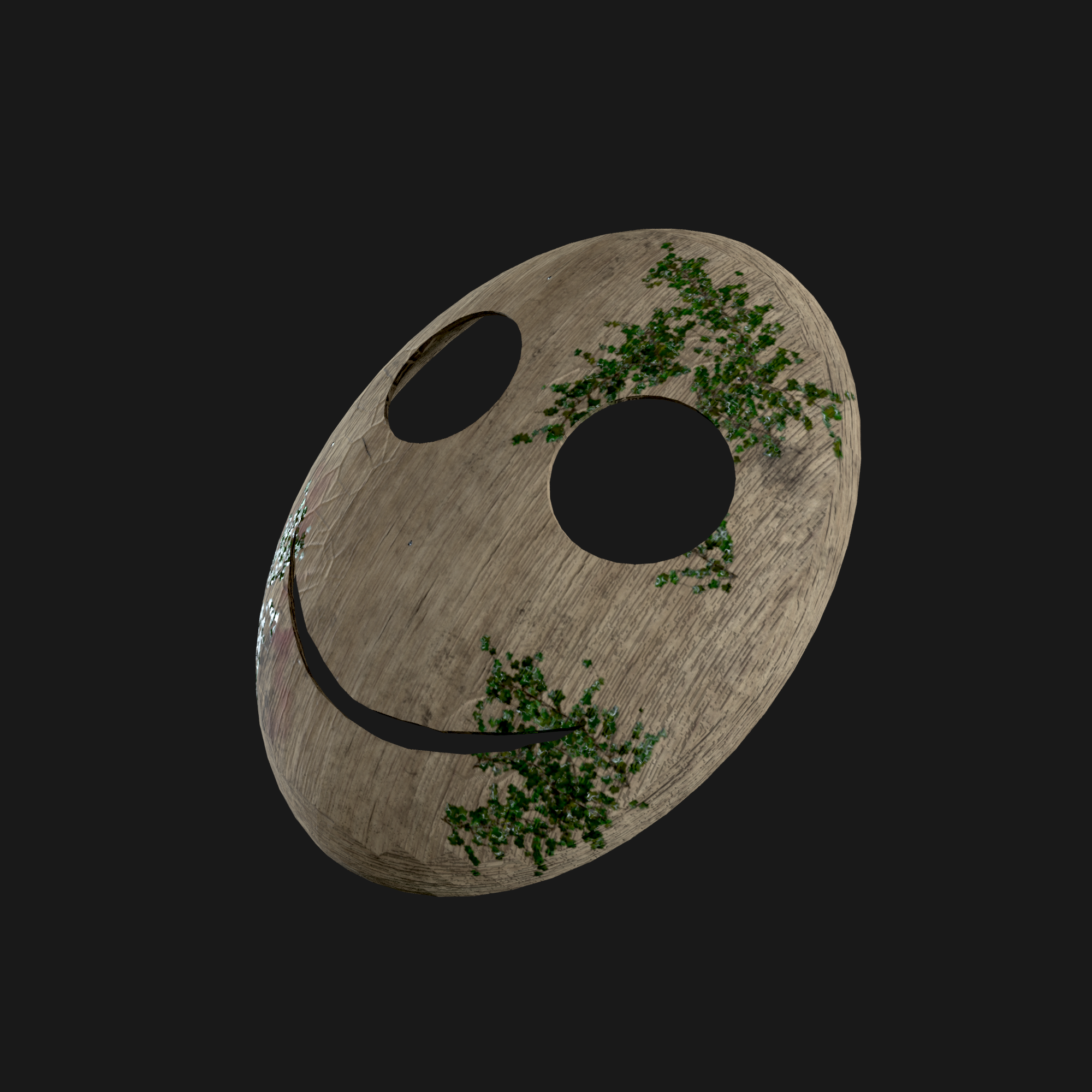 Wooden Mask preview image 1