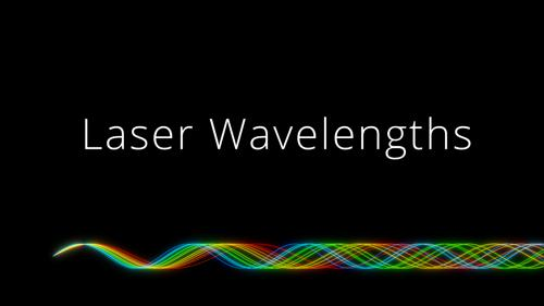 Common Laser Wavelengths preview image