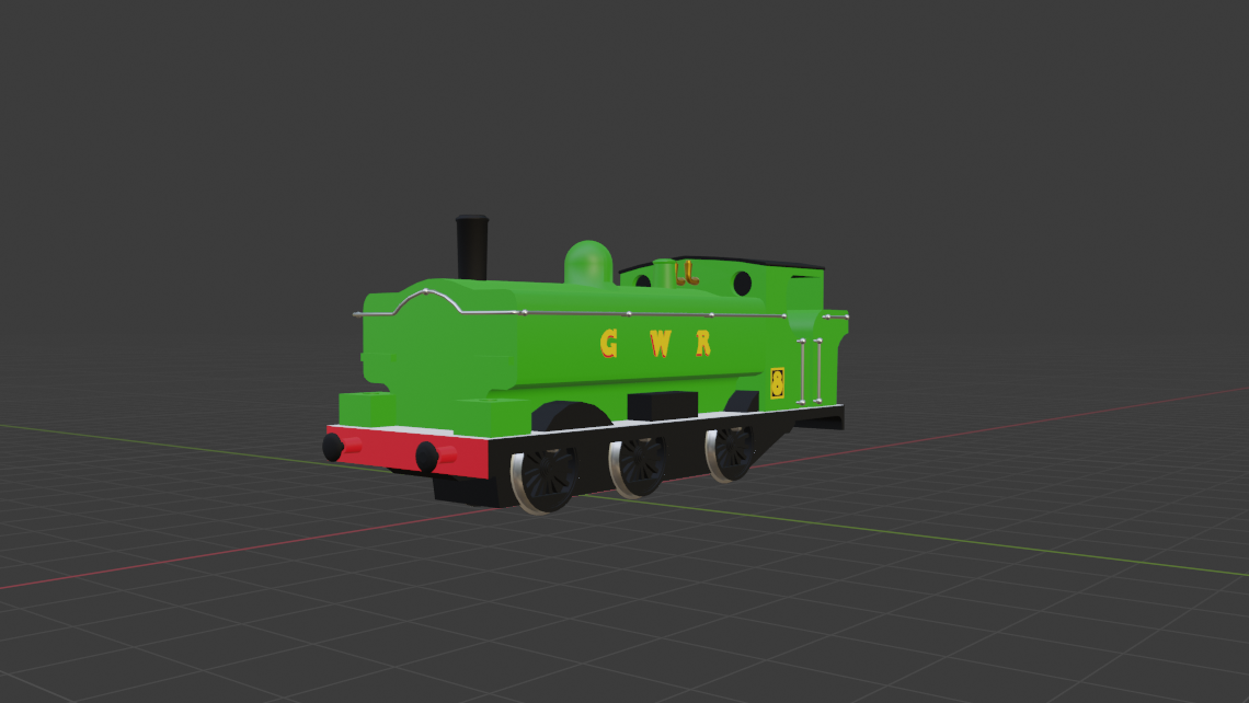GWR Pannier Tank Engine preview image 1