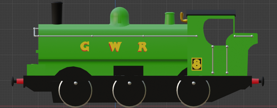 GWR Pannier Tank Engine preview image 2