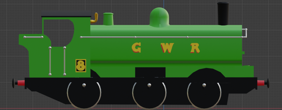 GWR Pannier Tank Engine preview image 3