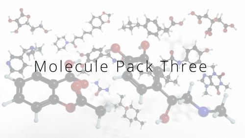 Molecule Pack Three - More Common Molecules preview image