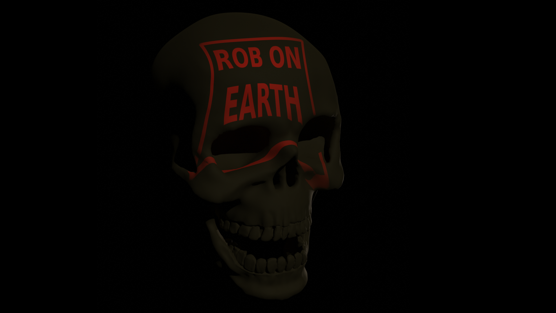 Human Skull A003 preview image 2