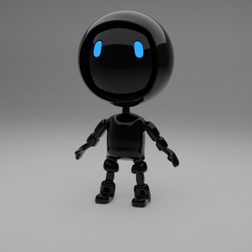 Super Bot! (rigged!!) preview image