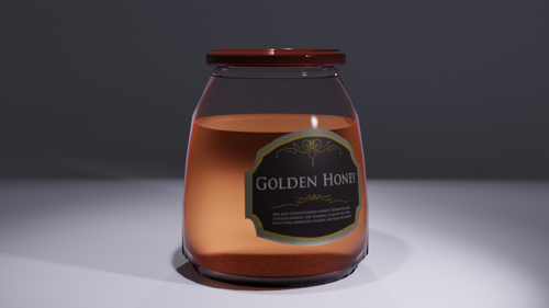 A simple jar of honey preview image