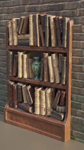 Old book case preview image