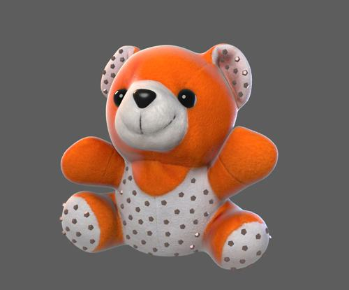 Bear plush toy preview image