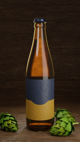 A bottle of beer preview image