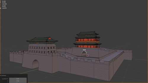 Gate Of Beijing - Yongding Gate (South Gate Of Beijing City)  preview image