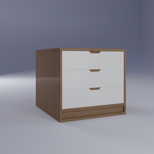 bedside table - BG3D preview image