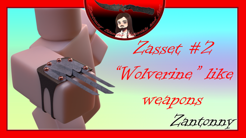Zasset 2 - 'Wolverine' like blade preview image