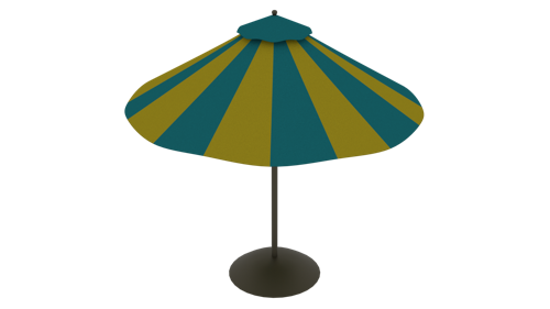 Patio Umbrella with secret hidden compartment! preview image
