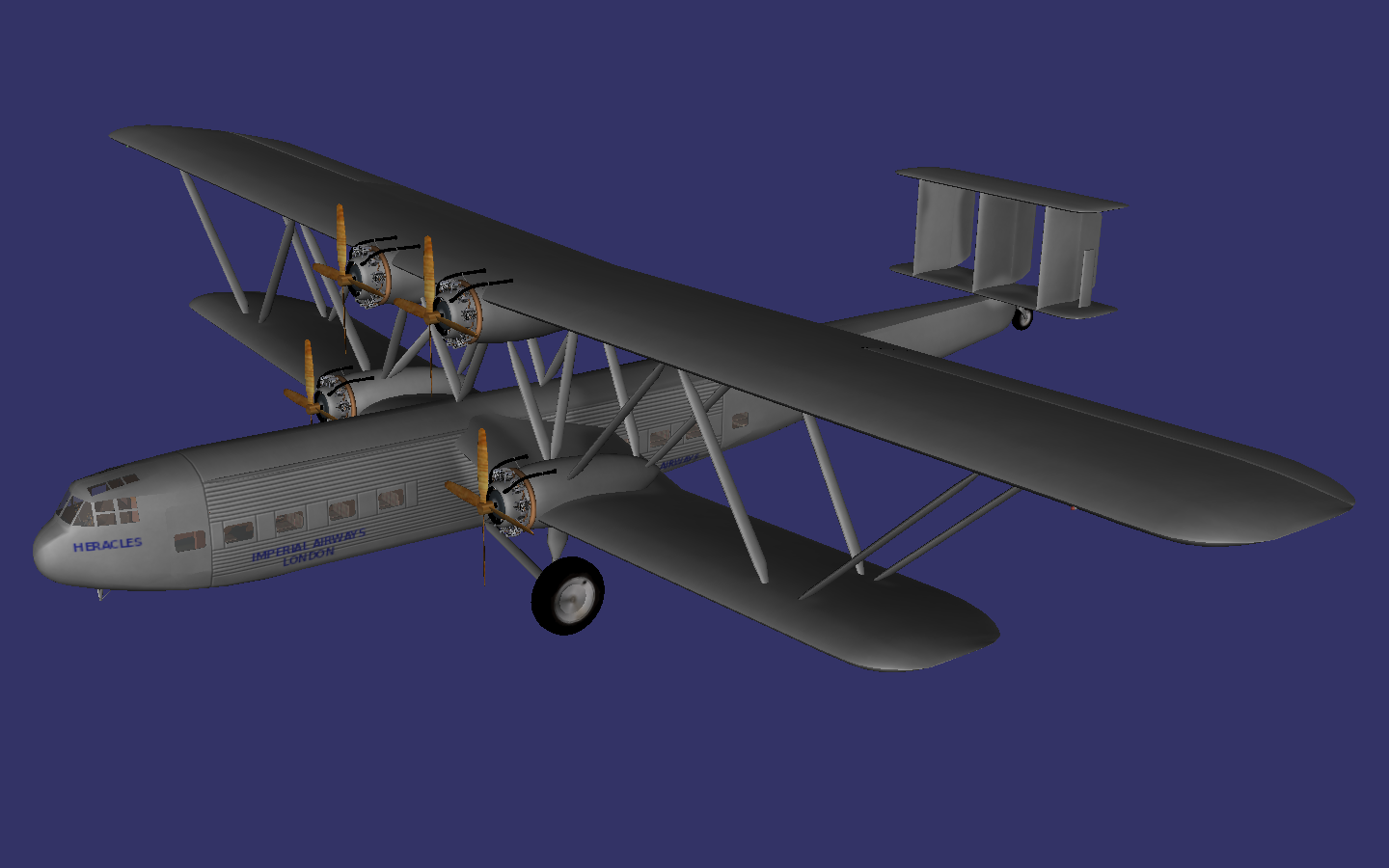 Handley Page HP 42 preview image 1