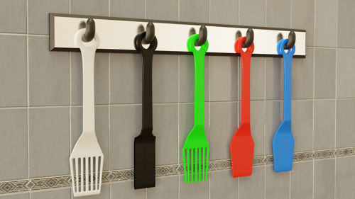 Spatula rack preview image