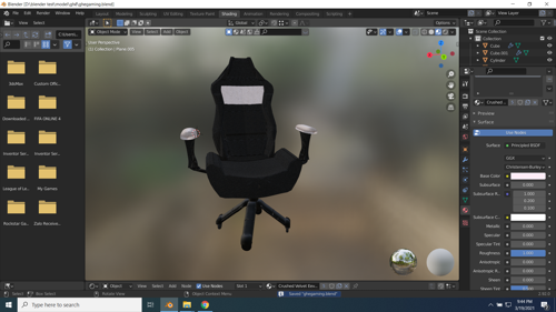 gaming chair preview image