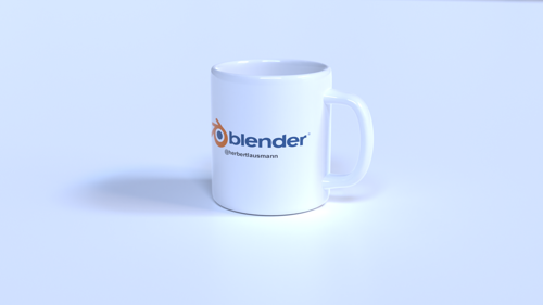 Blender Mug [Customizable] preview image