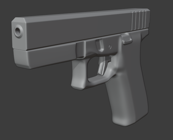Glock-17 (SubD) preview image 1